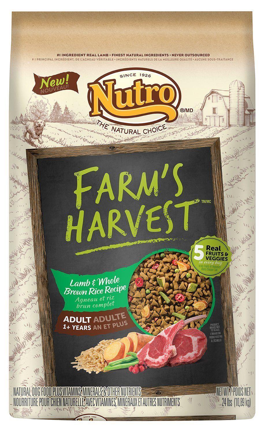 Nutro farms harvest adult dry dog food dont get left