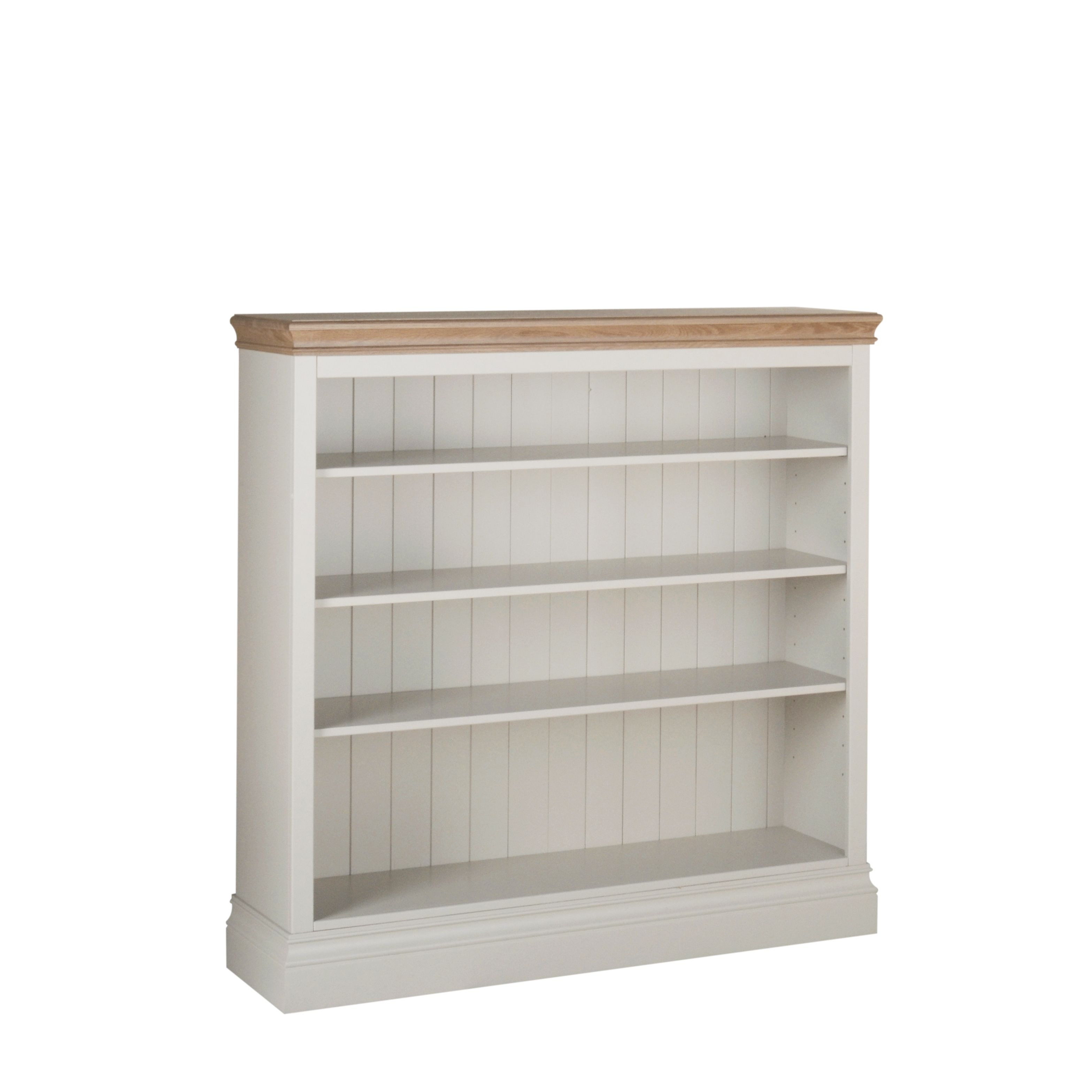 Lundy 4 Foot Wide Bookcase LK70