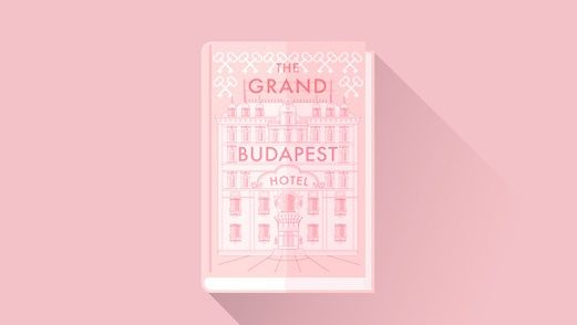 Grand Budapest Hotel Illustrated Drawings