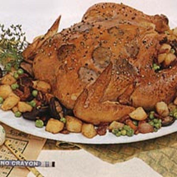 Chicken With Truffles Wild Mushrooms And Potatoes Recipe Stuffed Mushrooms Potato Mushroom