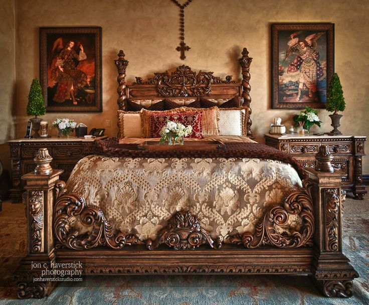 tuscany ways to decorate bedroom | Bedroom | Tuscan bedroom, Old world bedroom, Mediterranean ...
