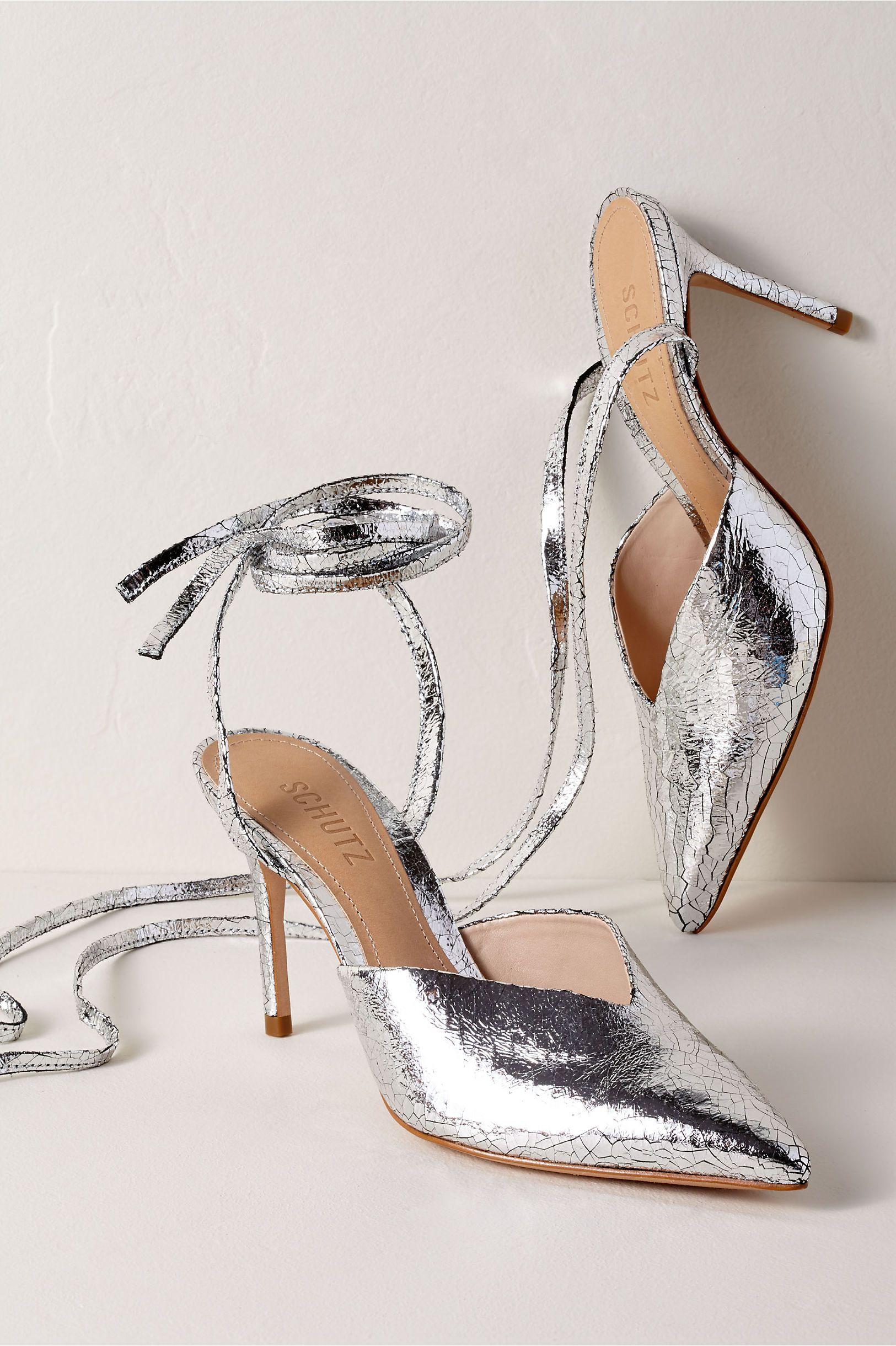 5af6ab80a6a BHLDN s Schutz Naiana Heels in Silver