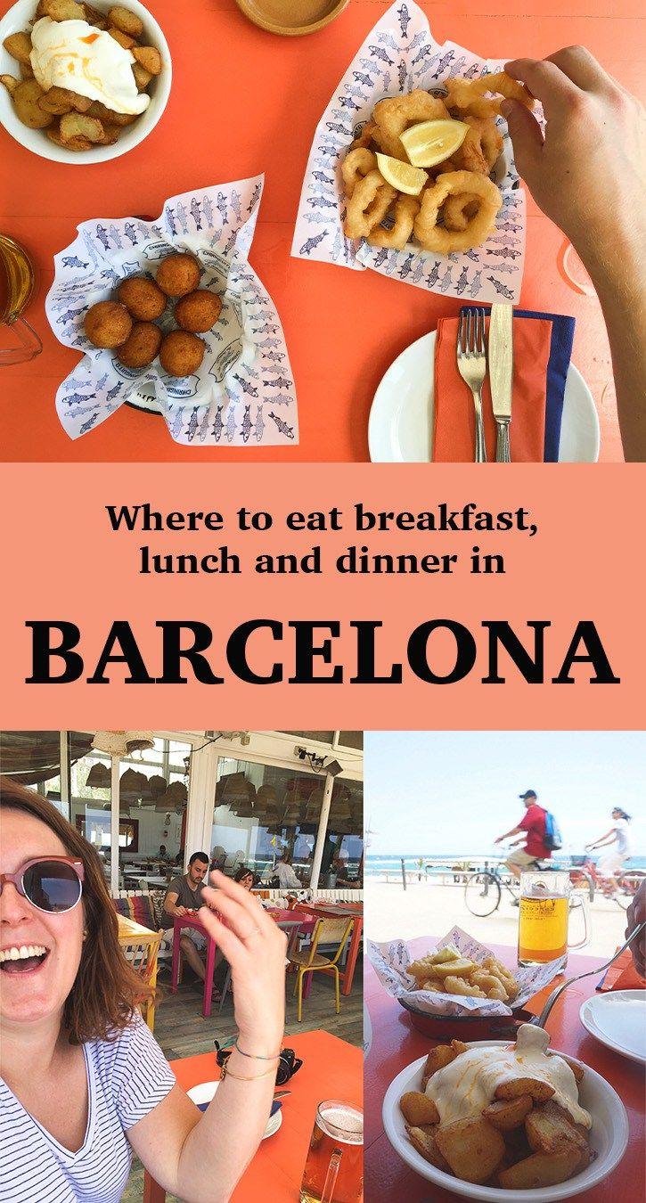 Barcelona Restaurants For Breakfast Lunch And Dinner