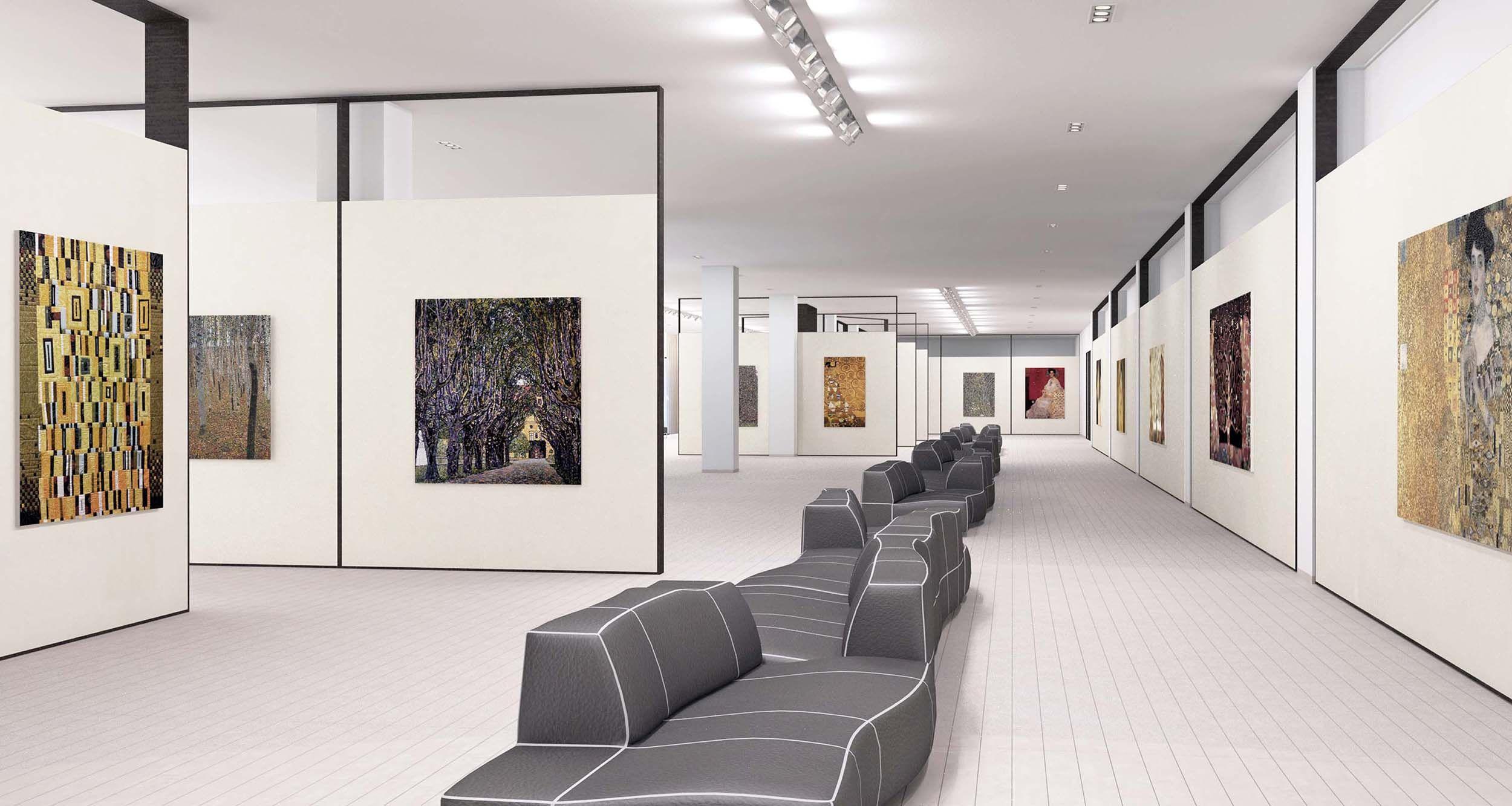 Frames And Lights Art Gallery Interior Gallery Design Interior