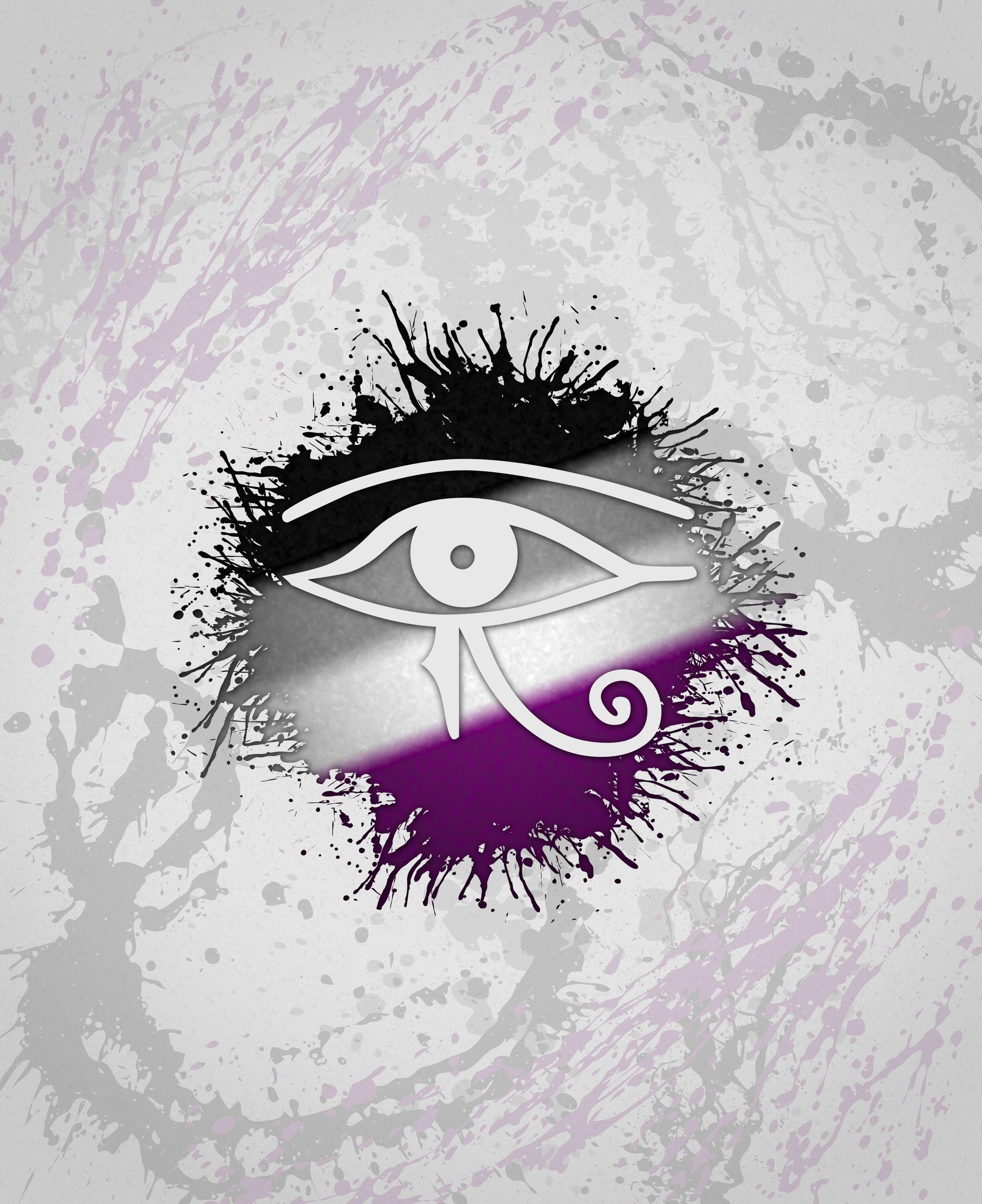 Egyptian eye of ra asexual egyptian eye of ra in asexual pride egyptian eye of ra asexual egyptian eye of ra in asexual pride colors asexy community biocorpaavc