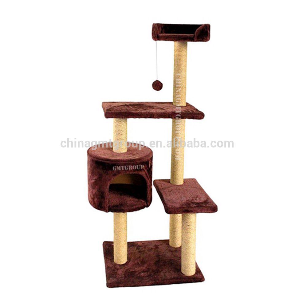 GMT508067 Natural Paradise Cat Tree Pet Pals Cat Tree Tower Condo