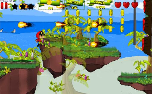 Hopstars Endless Runner Android puedes altar, deslizarse, correr y disparar su…