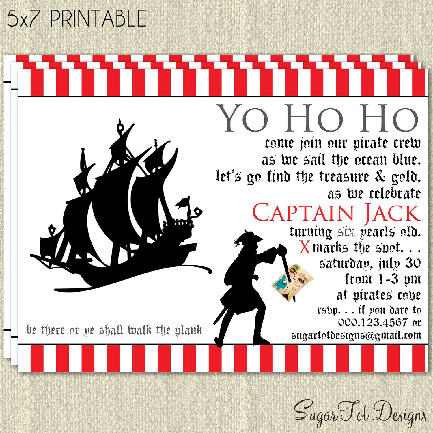 Pirate invitation pirate birthday party invitation hidden pirate invitation pirate birthday party invitation hidden treasure birthday party invitation modern pirate stopboris Choice Image