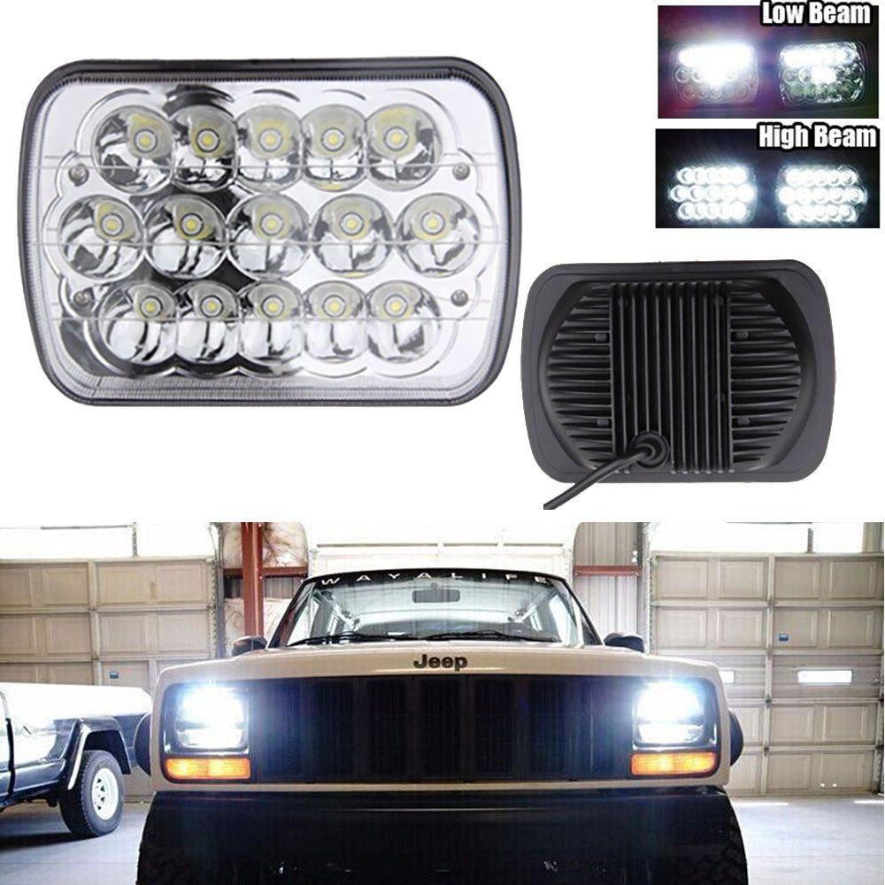 7x6 Led Headlight Sealed Beam For Ford F250 F350 Super Duty