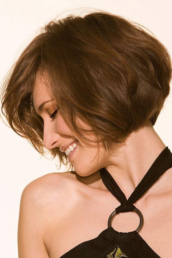 Natural Amazing Custom Short Loose Wavy Soft 100% Human Hair Bob Hairstyle Full Lace Wig 8 ...