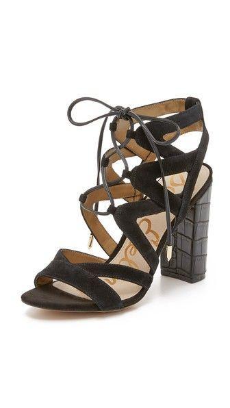 90a5384e932 Sam Edelman Yardley Lace Up Sandals