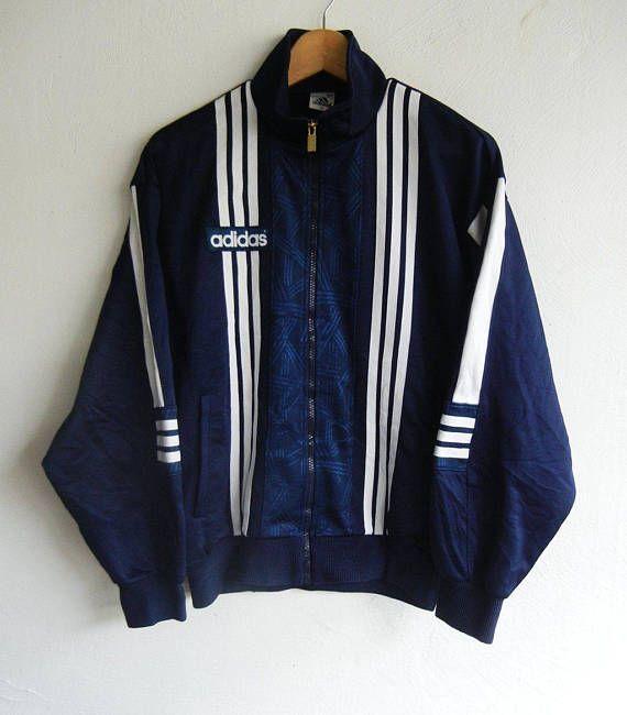 ADIDAS Spell Out Adidas International Vintage 80s Adidas 3