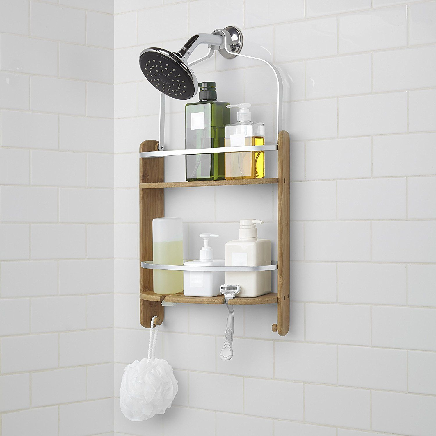 Amazon.com: Umbra Barrel Shower Caddy: Home & Kitchen | Master Bath ...