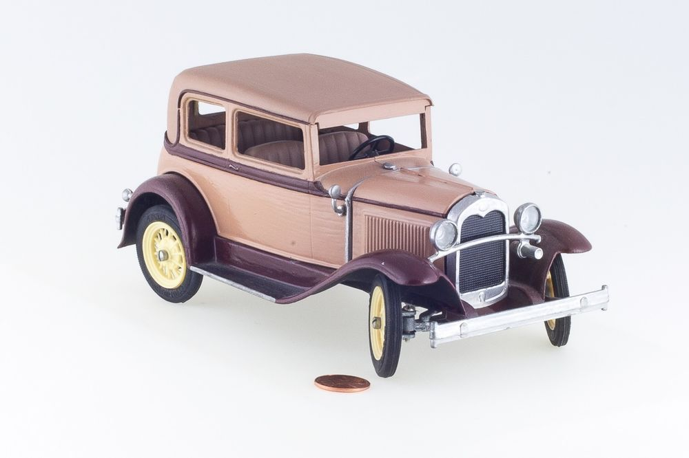 Hubley Toys Model A Victoria Metal Model Car Completed Painted USA ...