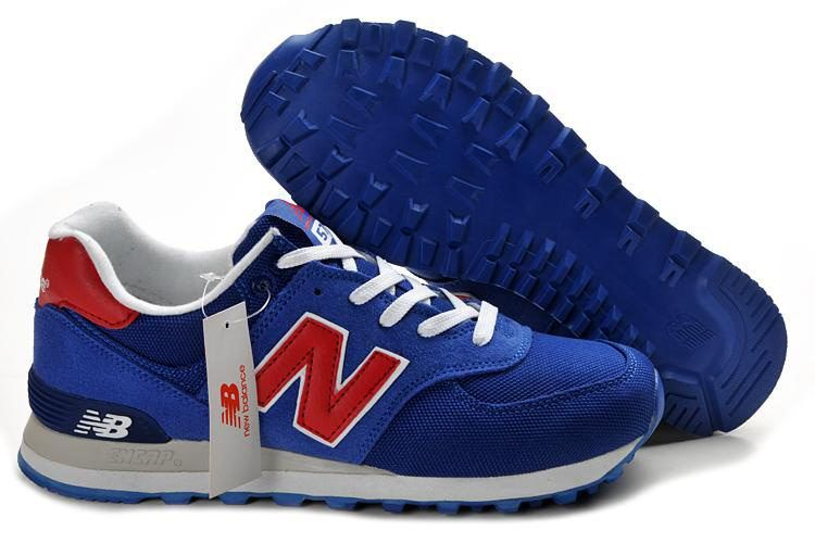 Wholesale Cheap New Balance NB ML574KBL Olympic deep Blue Red For Men shoes  Fashion Shoes Shop | Cheap Football Shoes | Pinterest | Cheap football  shoes, ...