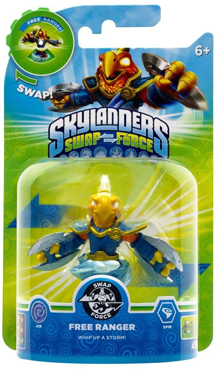 Køb Skylanders Swap Force Figur Free Ranger Swappable hos GameBits.dk - Dag-Til-Dag Levering.