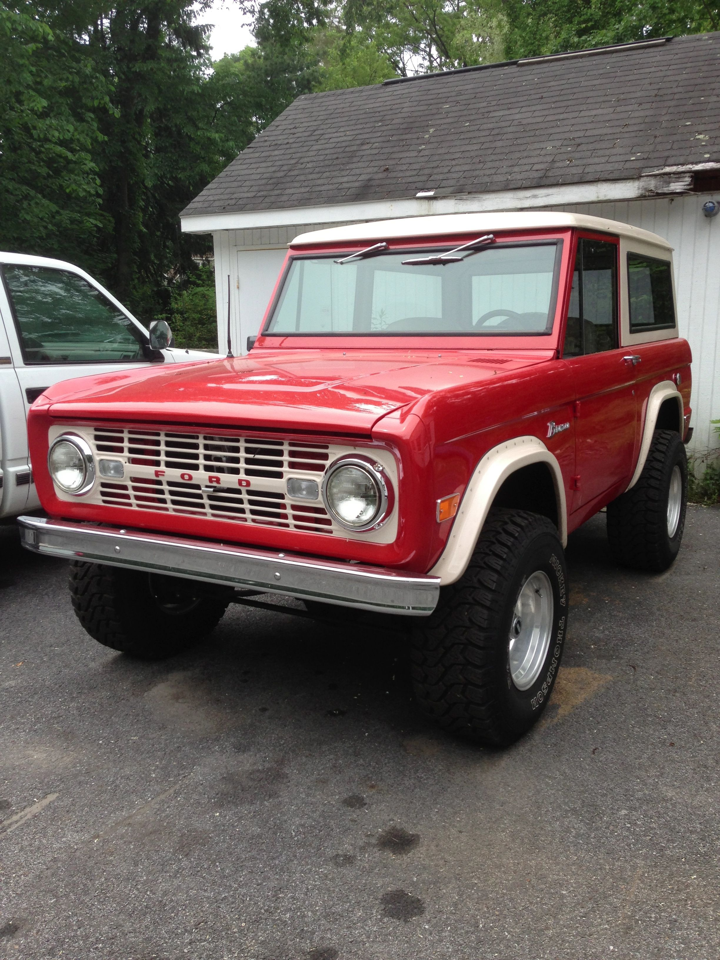 Vintage Bronco Pound Ridge Ny Old Ford Bronco Bronco Ford