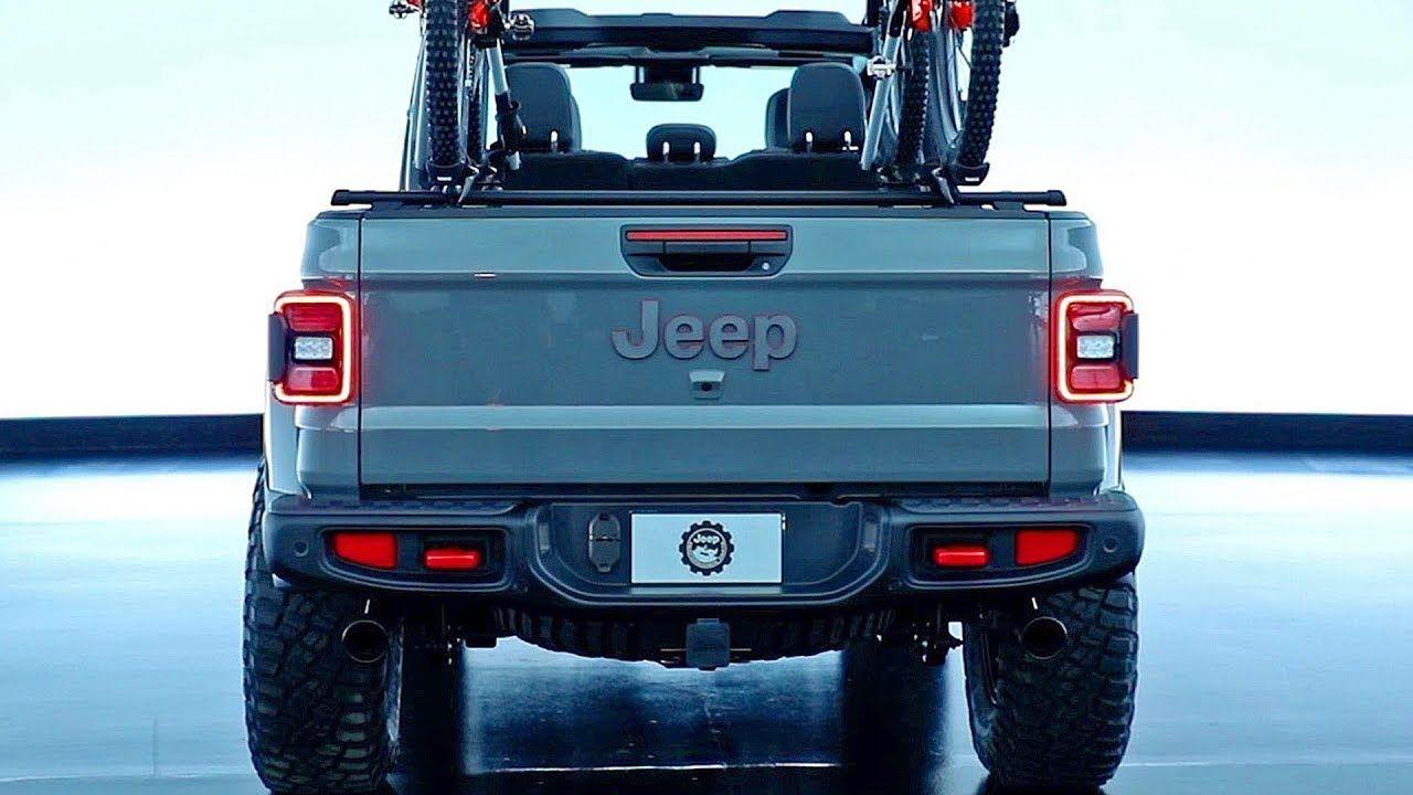 Jeep Gladiator modified by Mopar. Video Jeep Jeeps