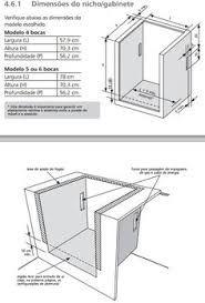 Resultado de imagem para projeto de armario para forno e