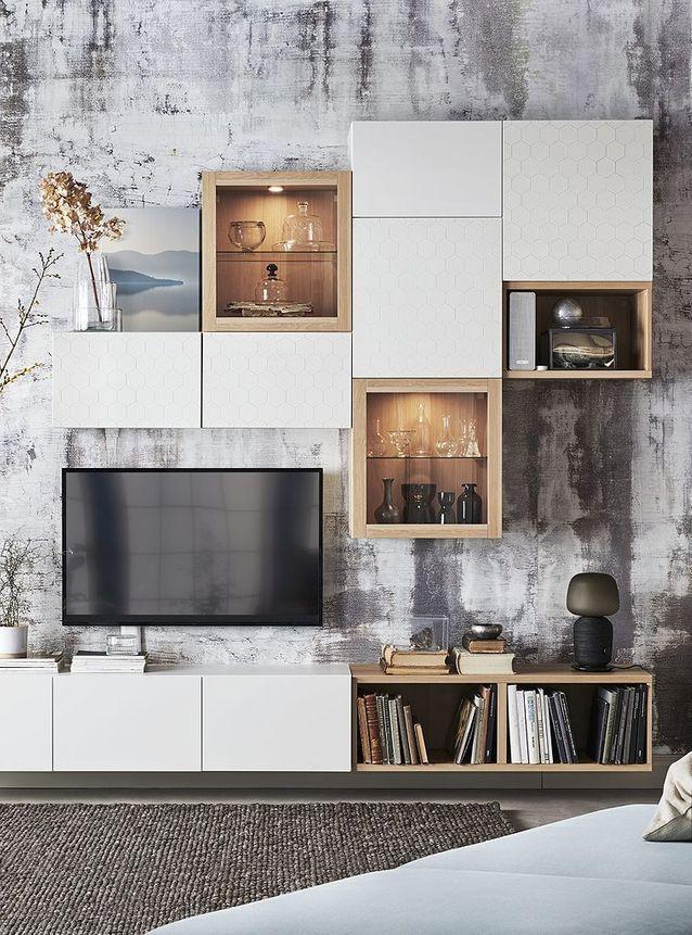 Catalogue Ikea 2020 Quelles Tendances Ce Printemps Elle Decoration En 2020 Rangement Petit Espace Ikea Mobilier De Salon