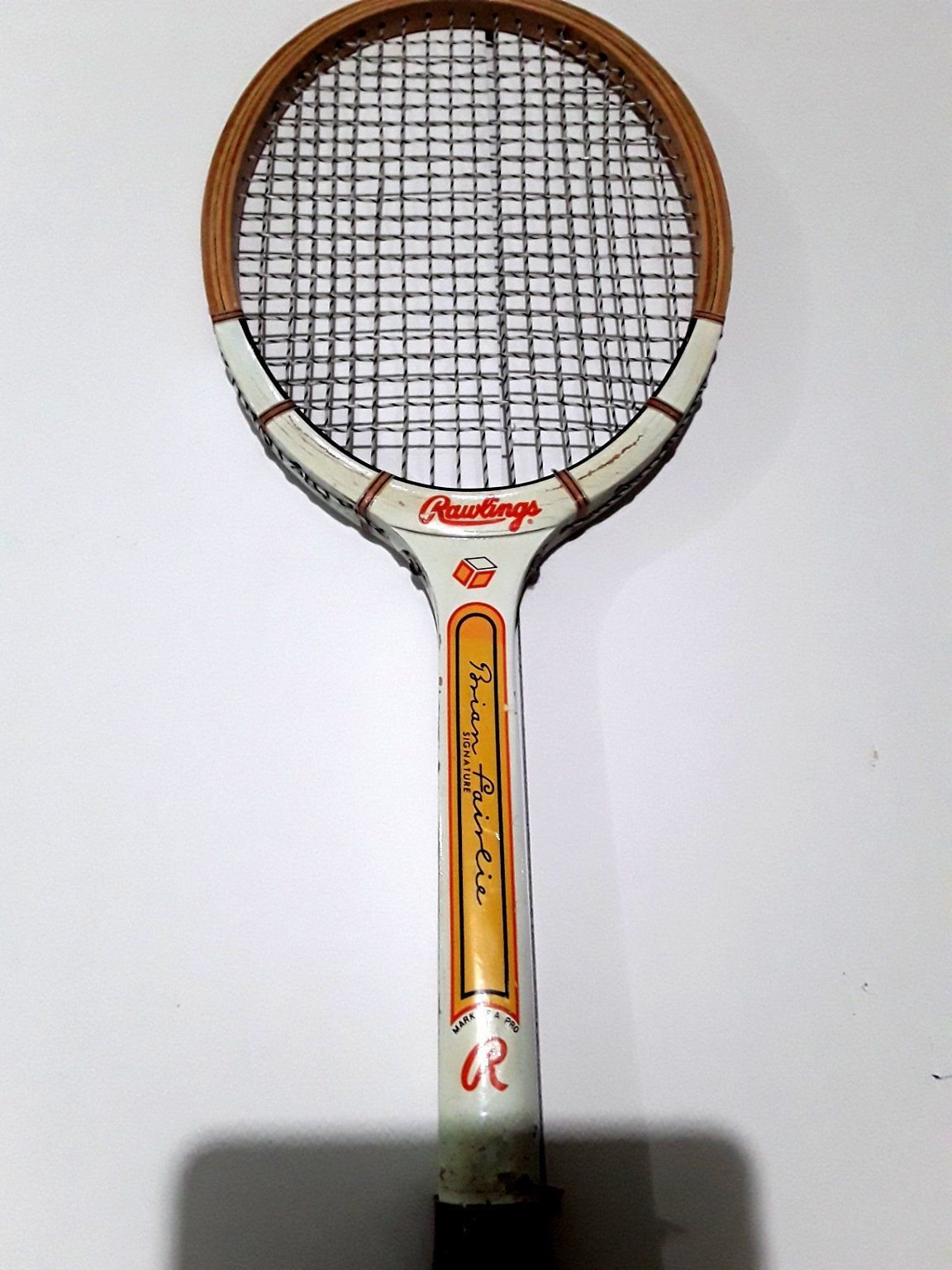 Rawlings Brian Fairlie Vintage Wood Tennis Racquet 60s 70s 4 1 2 New Zealand Philadelphia Freedom By Fchoicevintage On Vintage Tennis Tennis World Team Tennis