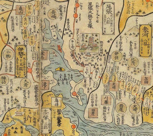 Nagoya travel map aichi ishikawa and japan nagoya japan road map owari prefecture present aichimie area ishikawa ryusen caption from daruman gumiabroncs Images