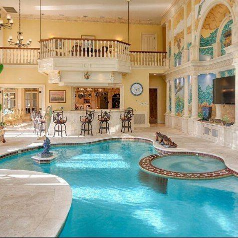 Homedecor Instagram Love Cute Tumblr Beautiful Indoor Swimming Pool Design Luxury Swimming Pools Swimming Pool Designs