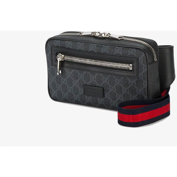 eb20c56af40 Gucci Soft Gg Supreme Belt Bag ( 750) ❤ liked on Polyvore featuring bags  and gucci mens bag
