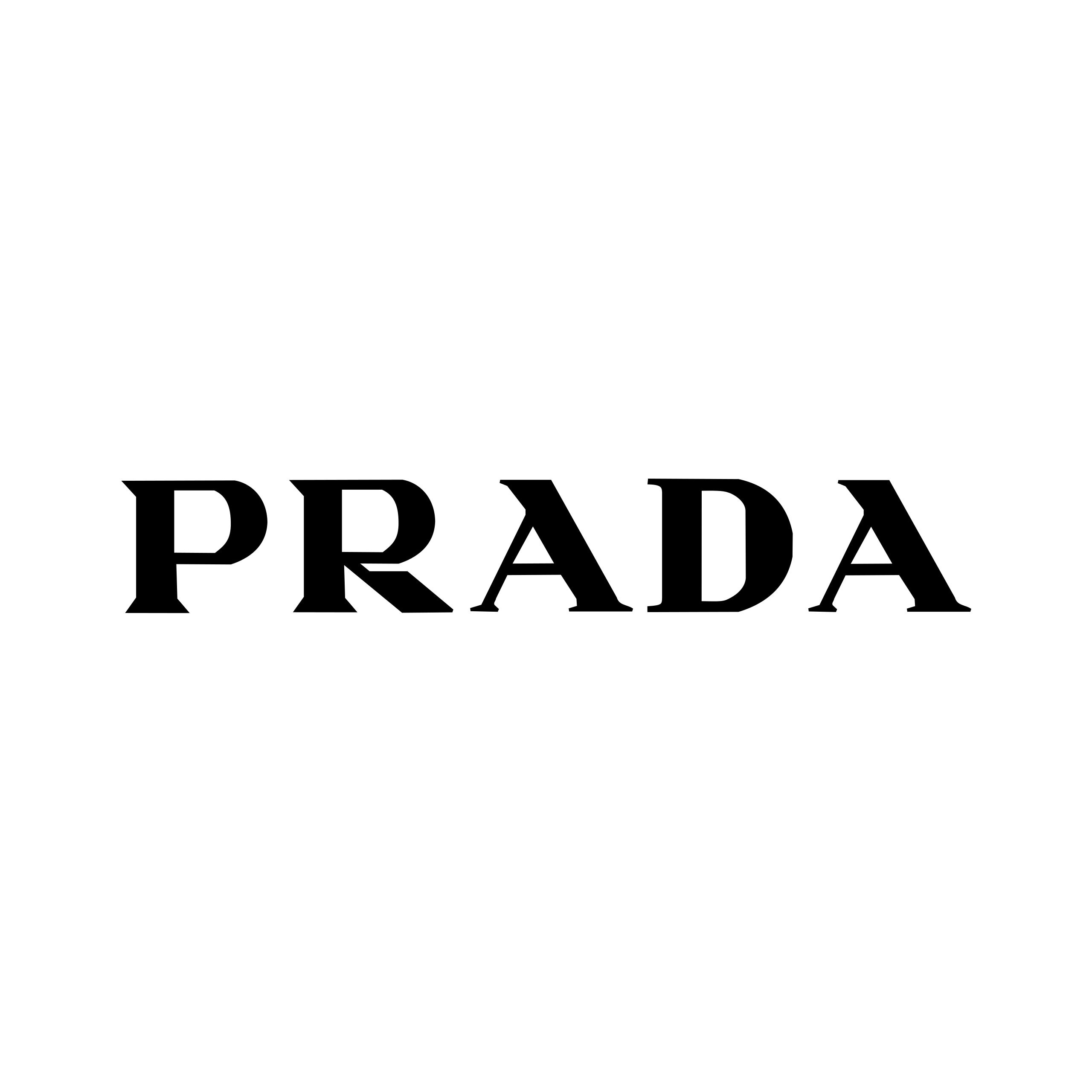 Word Mark Logo, Logos Design, Prada