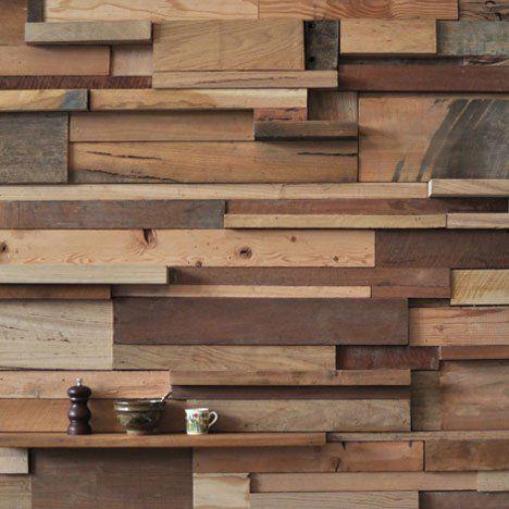 mur en chutes de bois brut veranda pinterest bois brut brut et mur. Black Bedroom Furniture Sets. Home Design Ideas