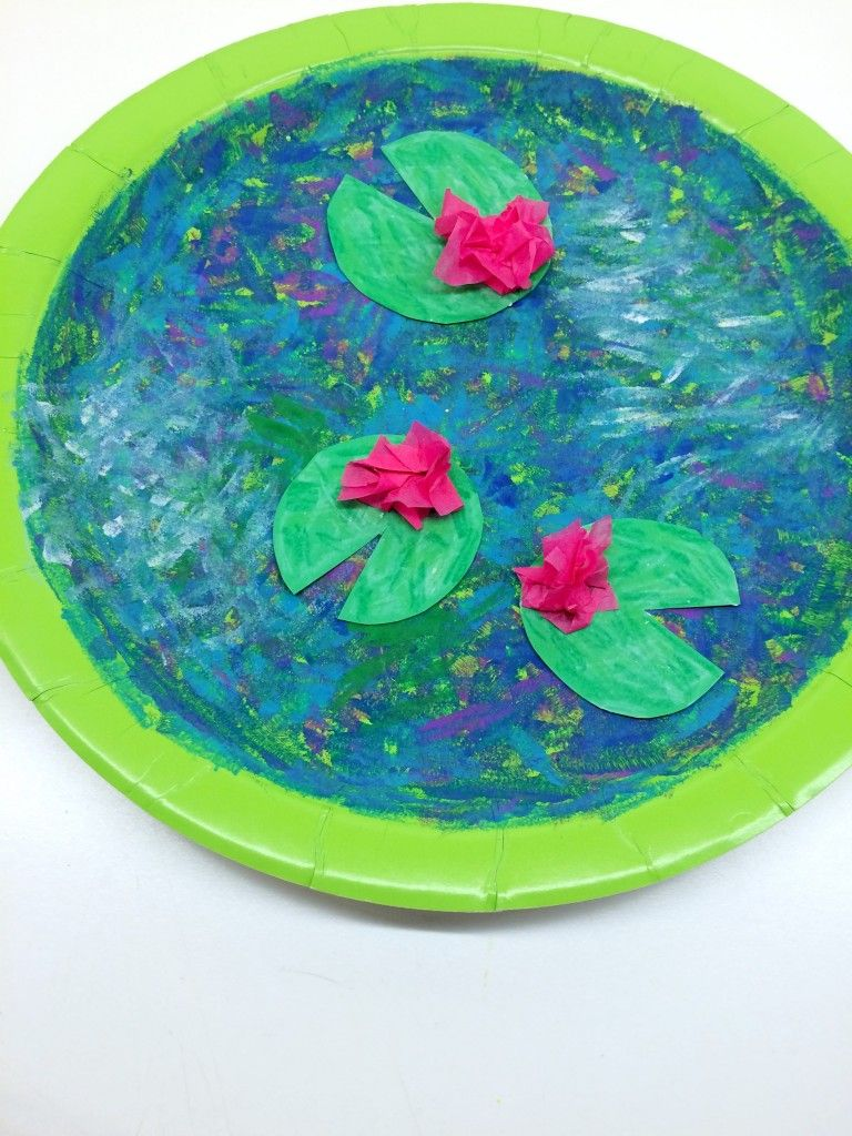 10 Awesome Monet Inspired Art Activities For Kids Back To School