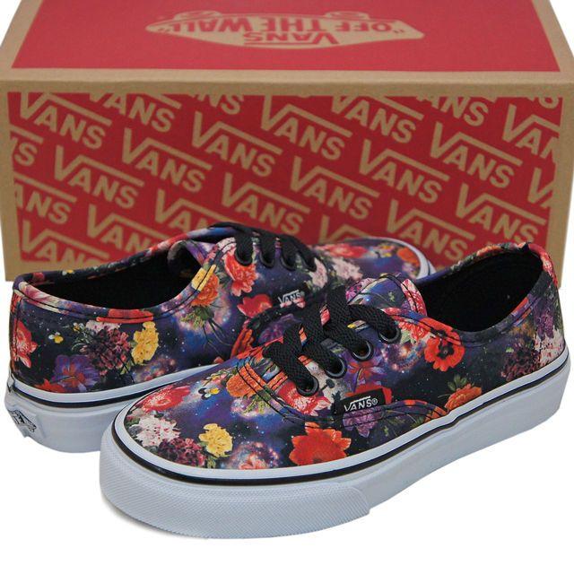 Vans Kids Authentic Youth Little Kid Big Kid Galaxy Floral Authentic Size 13 #VANS #CasualShoes