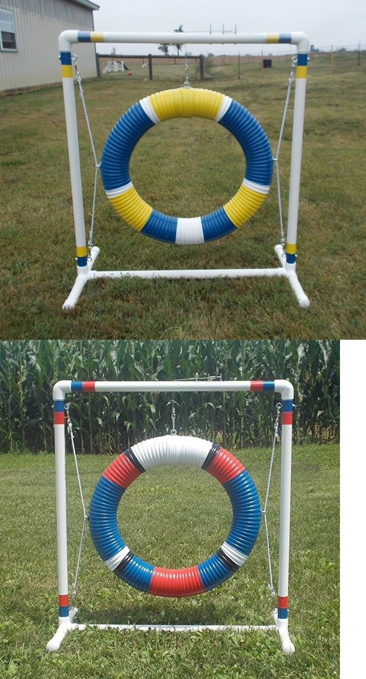 Details about dog agility equipment mini tire jump dog