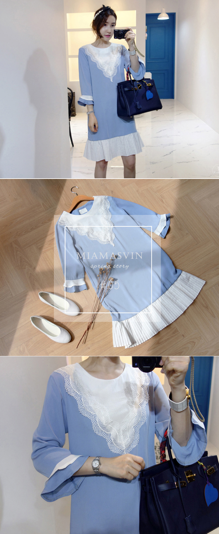 Sport a gorgeous casual look with this lovely shift dress. / $ 50.10 / #miamasvin #koreanfashion