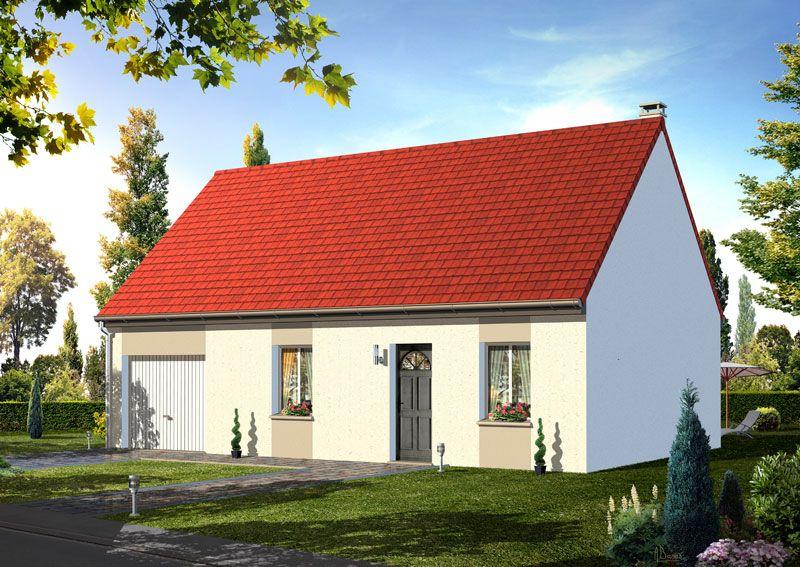 Mod le iseran pavillon avec garage comprenant cuisine for Modele cuisine ouverte sur sejour