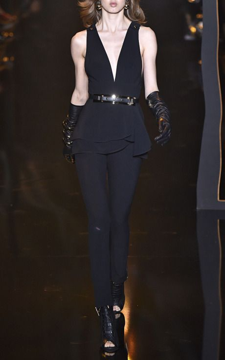 4e167e3d4ffe Cady Peplum Jumpsuit by Elie Saab for Preorder on Moda Operandi ...