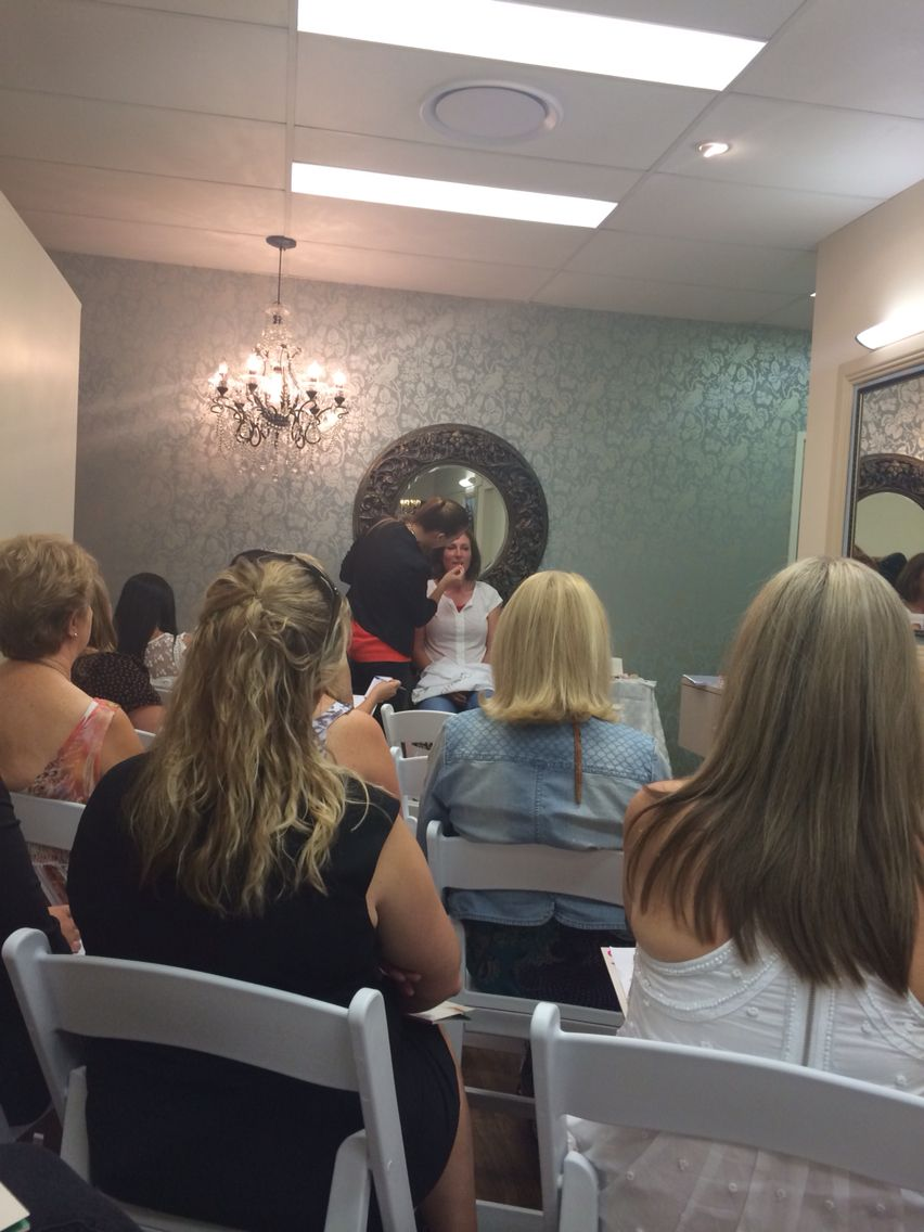 Jane Iredale workshop. Never too old to learn a few makeup tips and tricks