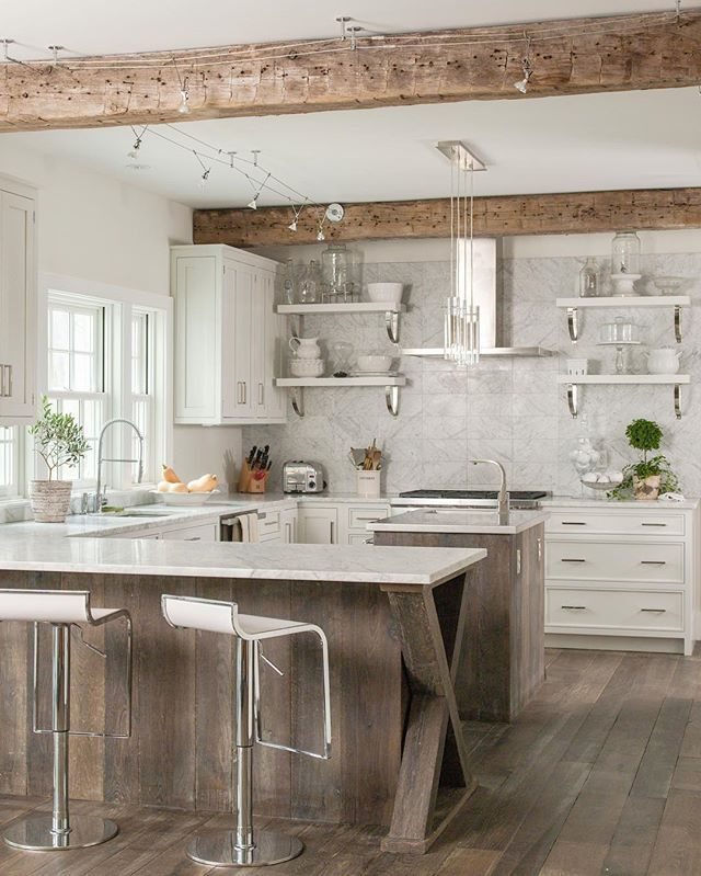 Connecticut Kitchen Design Endearing As Impractical As Open Shelving May Be In Some People's Lives It Design Inspiration
