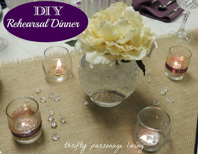 thrifty parsonage living rehearsal dinner on a budget includes low