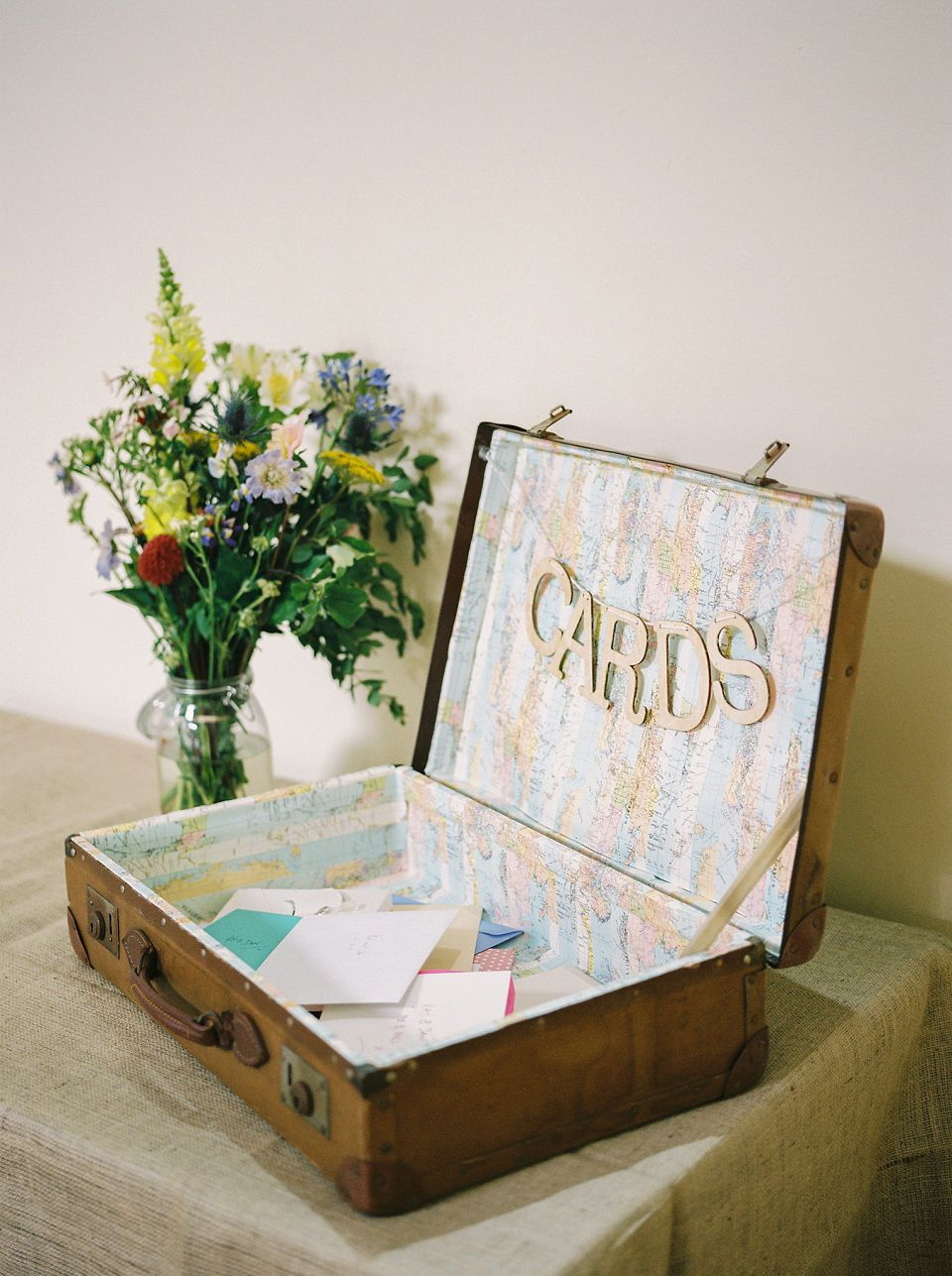 Wedding decoration ideas for village hall  A Pretty Village Hall Wedding of Laid Back and Pared Down Elegance