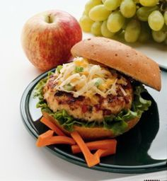 Green Bay Beer Packer Beer Brat Burger and other great NFL team burger recipes.  Gotta love a Burger!