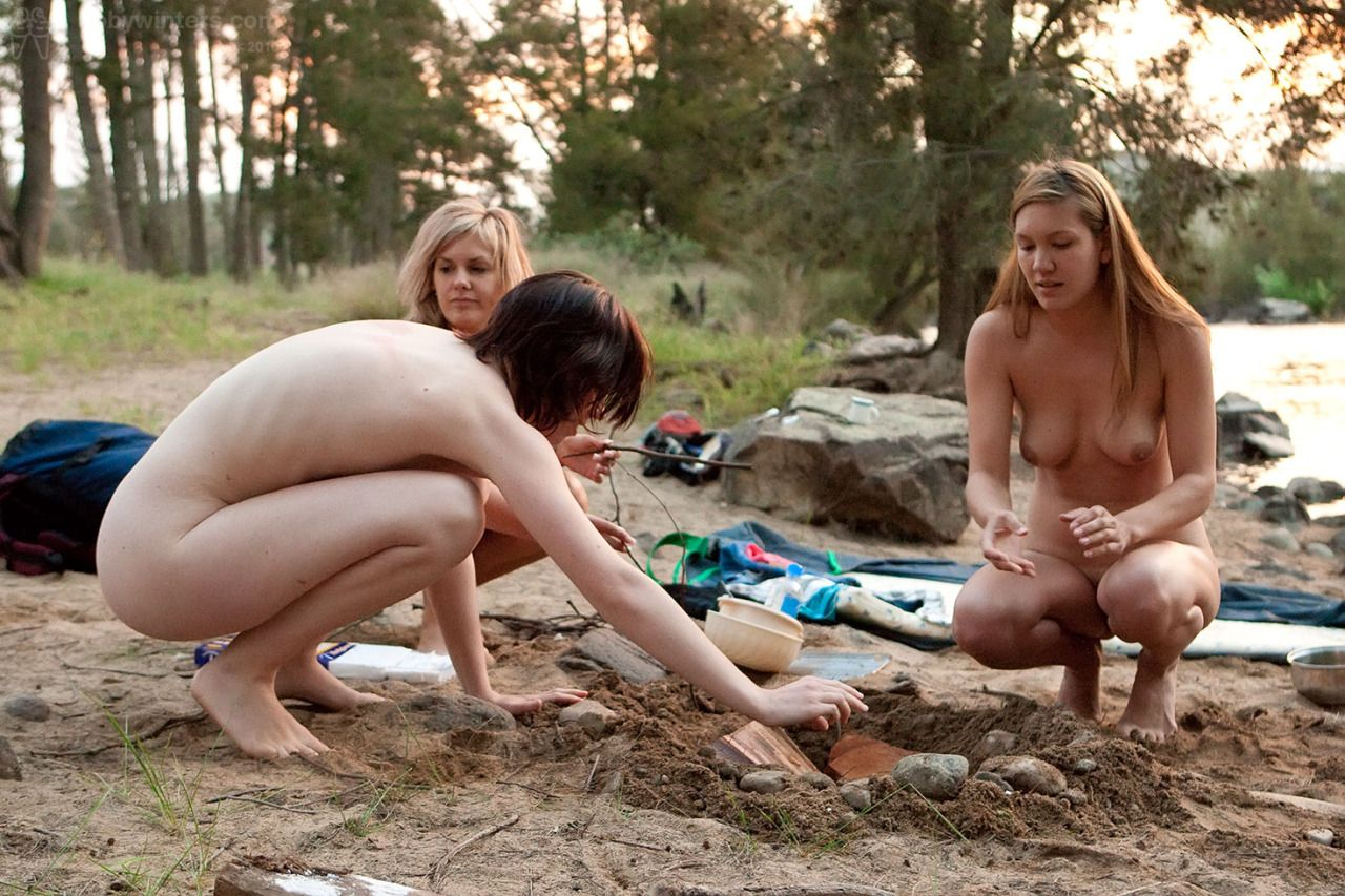 Tumblr camping naked wife