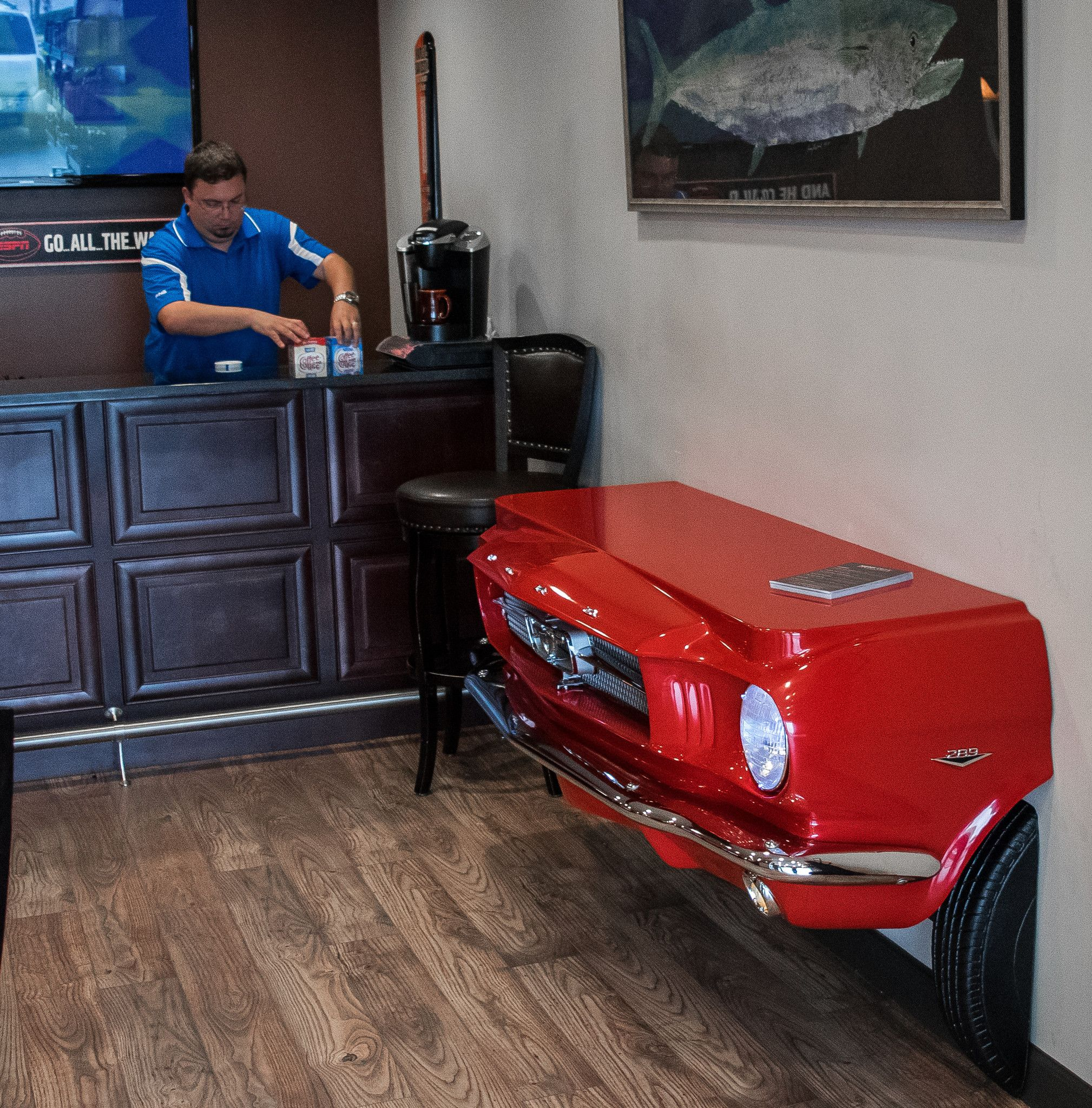 1965 Mustang Console Table Pictures