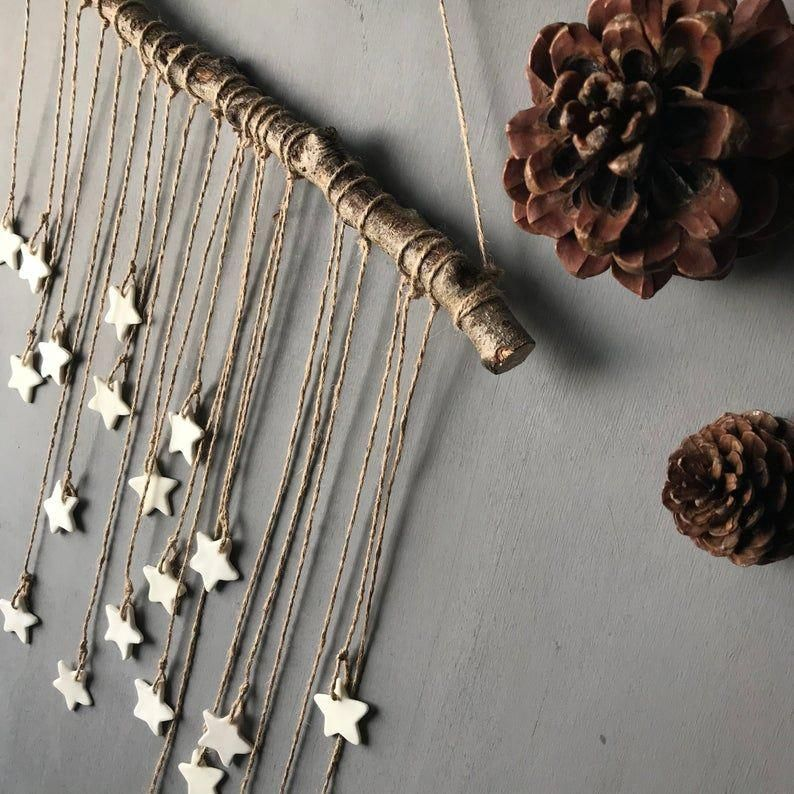 Decoration on the wall,star,christmas decoration,christmas,hand made, ward -   19 diy Decorations noel ideas