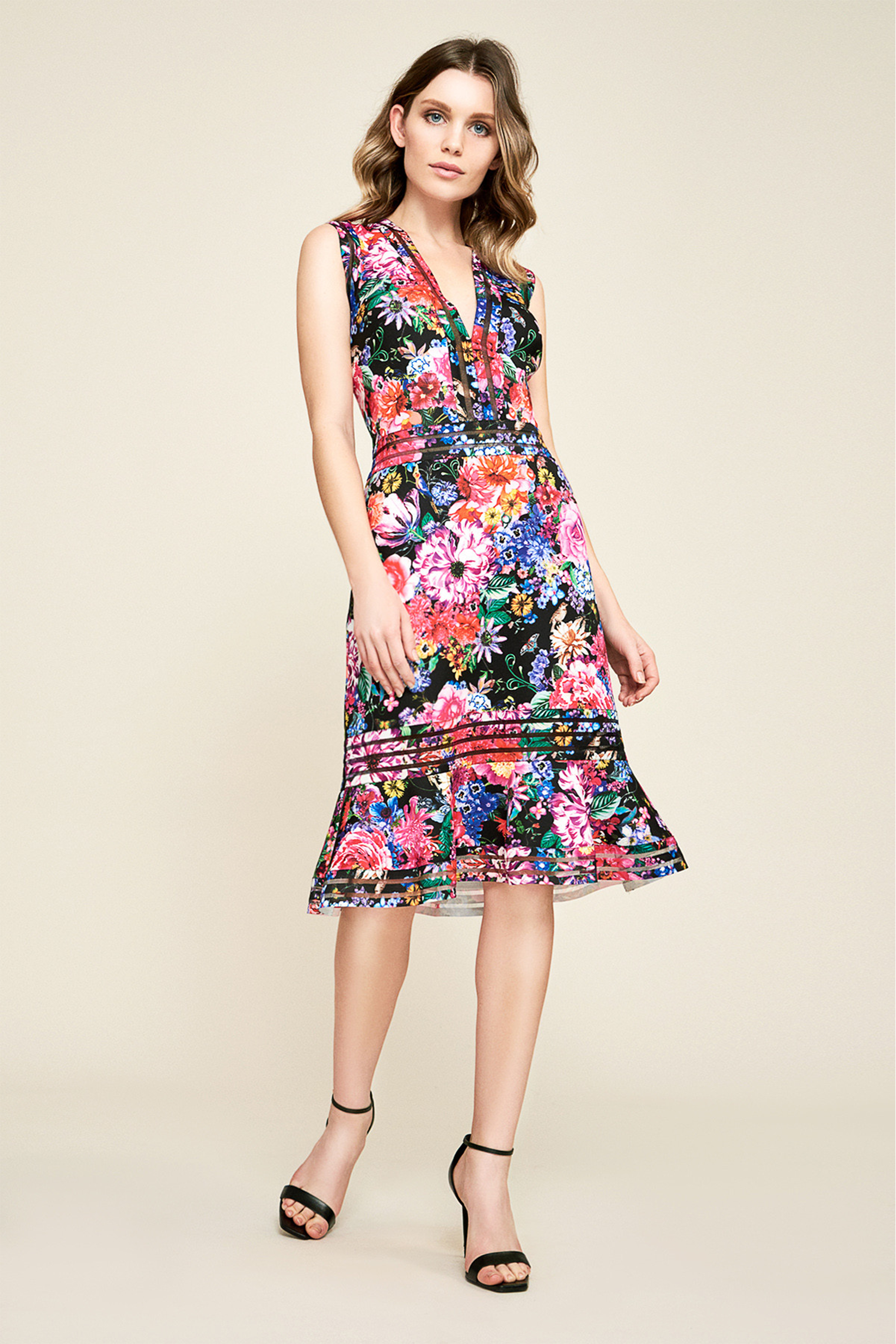 Bdf18736m Sukienka Koktajlowa Dresses Floral Print Dress Cocktail Dress Party