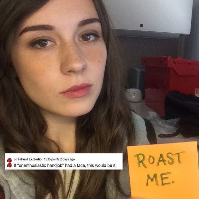 Spit roast her