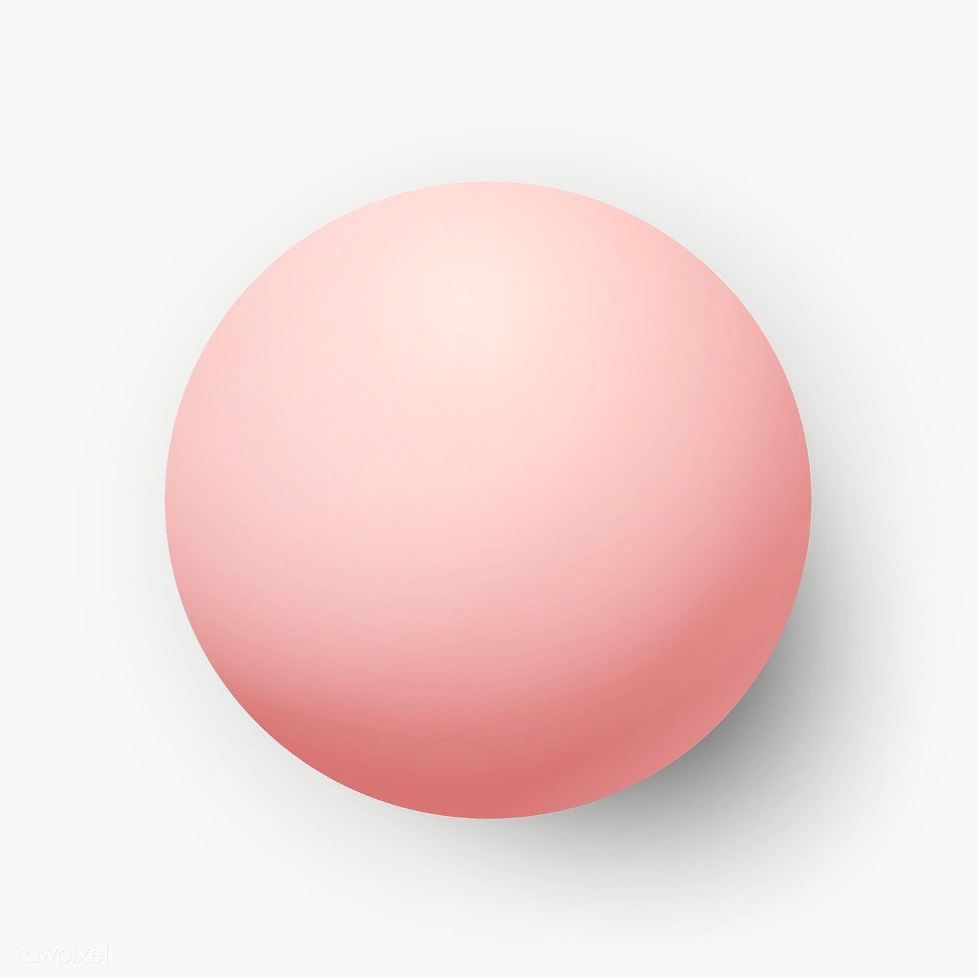 Pastel Pink Geometric Circle Design Social Banner Free Image By Rawpixel Com Kappy Kappy Geometric Circle Circle Design Pastel Pink