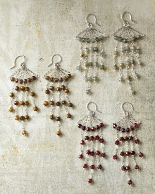 Chan Luu Chandelier Stone Earrings #accessories | Accessorize ...