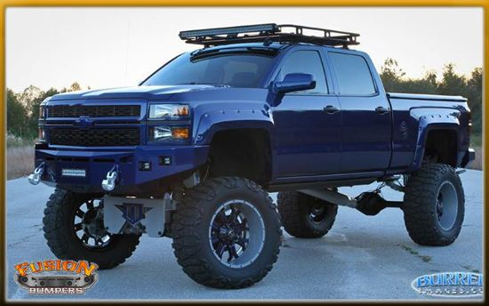 Fusion Bumpers 2014 2015 Gmc 1500 Front Bumper Bfd Performance Llc Chevy 1500 Chevy Trucks Trucks
