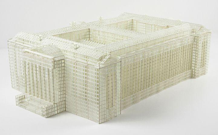 Intricate 3D Paper Building Sculptures - My Modern Metropolis